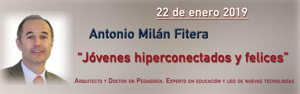 Conferencia Antonio Milán Fitera